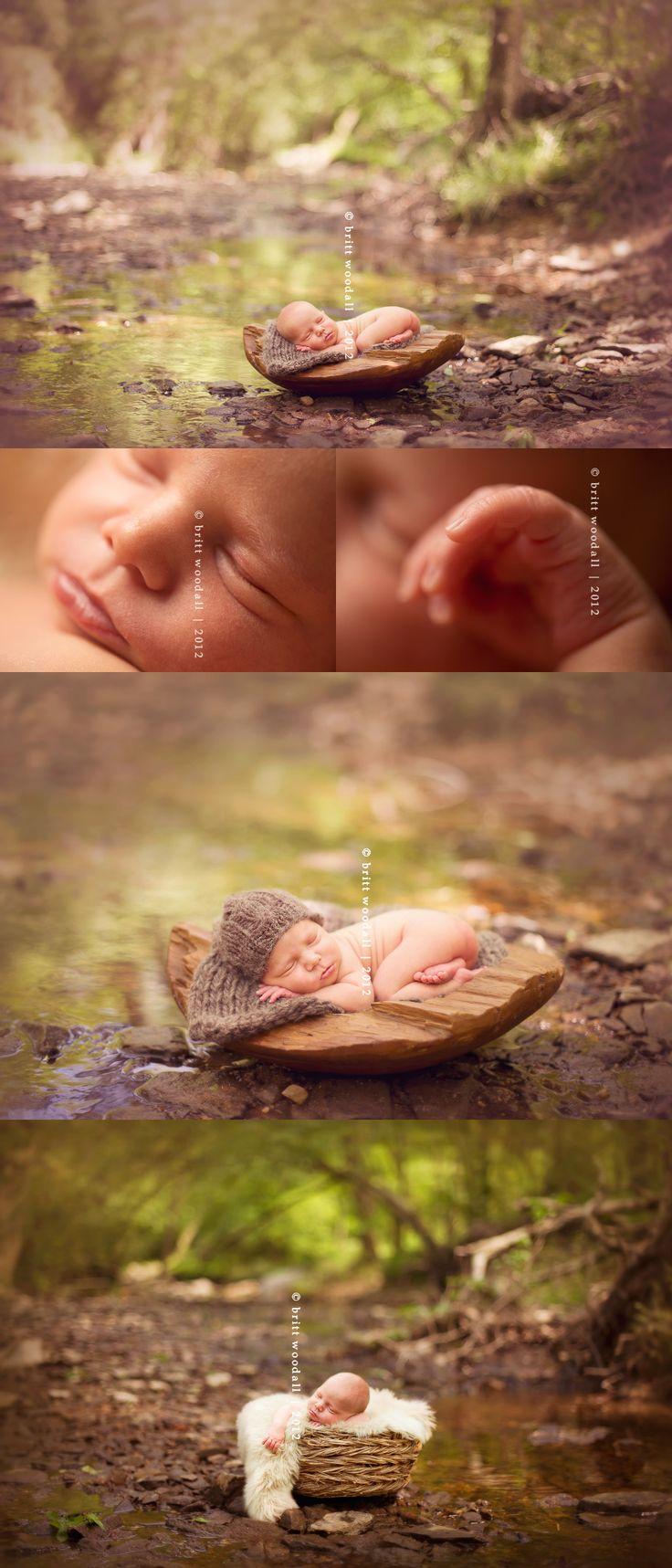 raleigh north carolina newborn baby photography by britt woodall