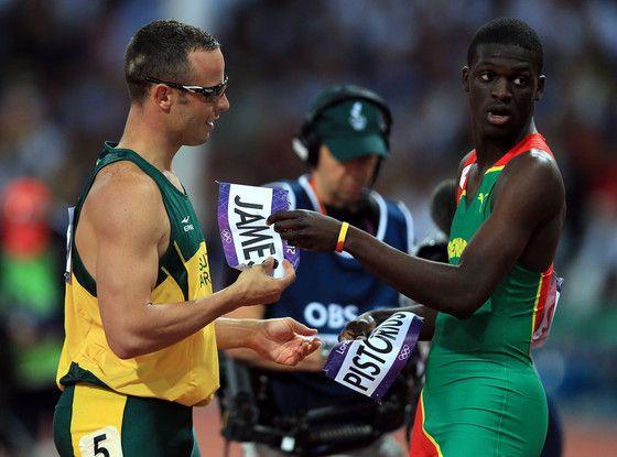 Oscar Pistorius, Kirani James, 2012 Summer Olympics