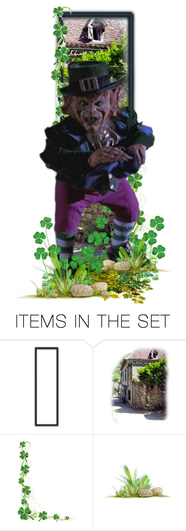 """""""Leprechaun"""" by girlinthebigbox ❤ liked on Polyvore featuring art, 90s, film, horror and awful"""