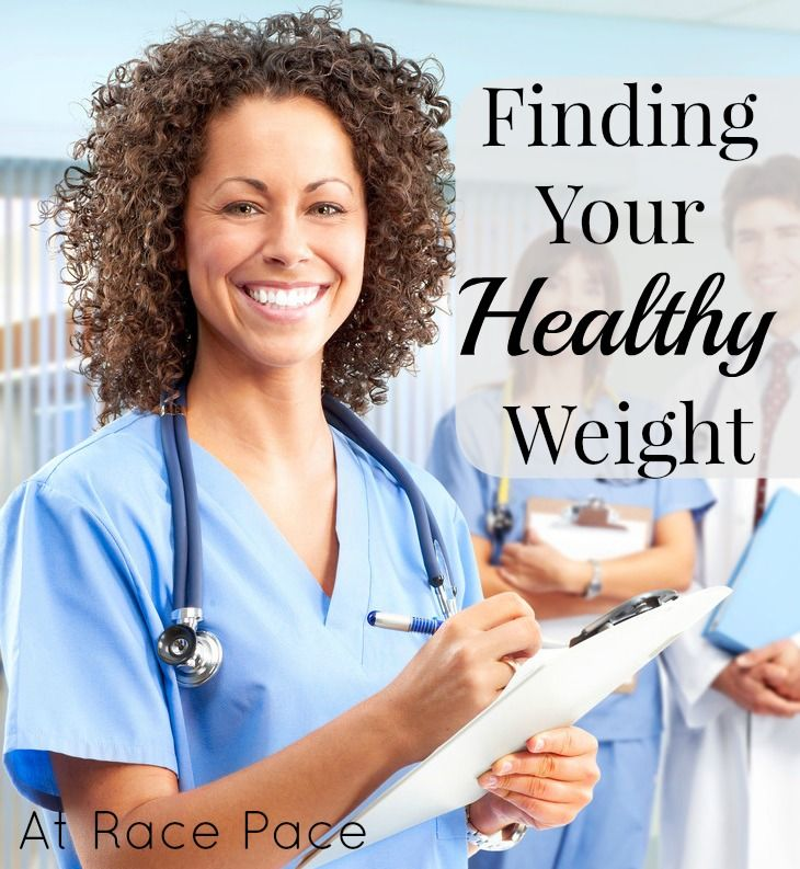 Finding Your Healthy Weight   At Race Pace
