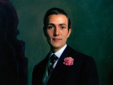 Picture of Dorian Gray (detail) painted by portuguese painter Henrique Medina for the 1945 film adaptation of Oscar Wilde's classic.