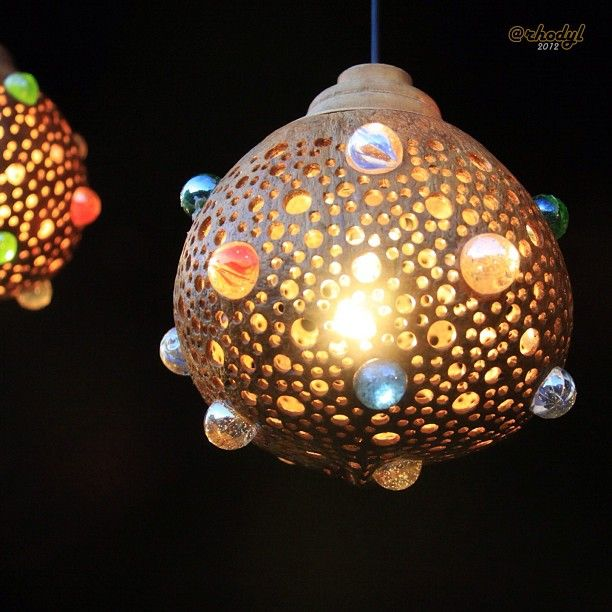 Coconut lamp | Home deco | DIY | Interieur | Sustainable | Inspiration