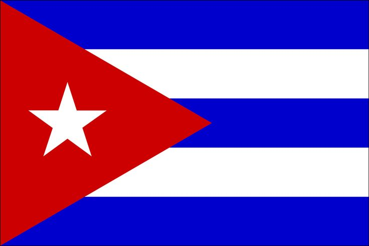 the blue stripes refer to the three old divisions of the island; and the two white stripes represent the strength of the independent ideal. The red triangle symbolizes equality, fraternity and freedom, as well as the blood shed in the islands struggle for independence. Finally, the white star symbolizes the absolute freedom among the Cuban people.