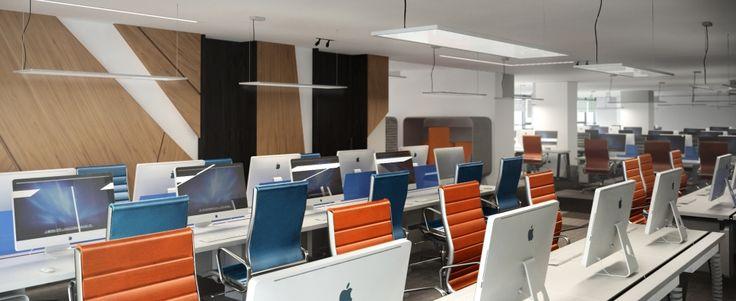 IT corporate office-rendering