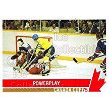 Team Sweden, Team USA Hockey Card 1992 Future Trends Canada Cup 1976 #127 Team Sweden, Team USA