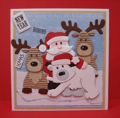 Maria's+kaartjes:+Hohoho+en+let+it+snow