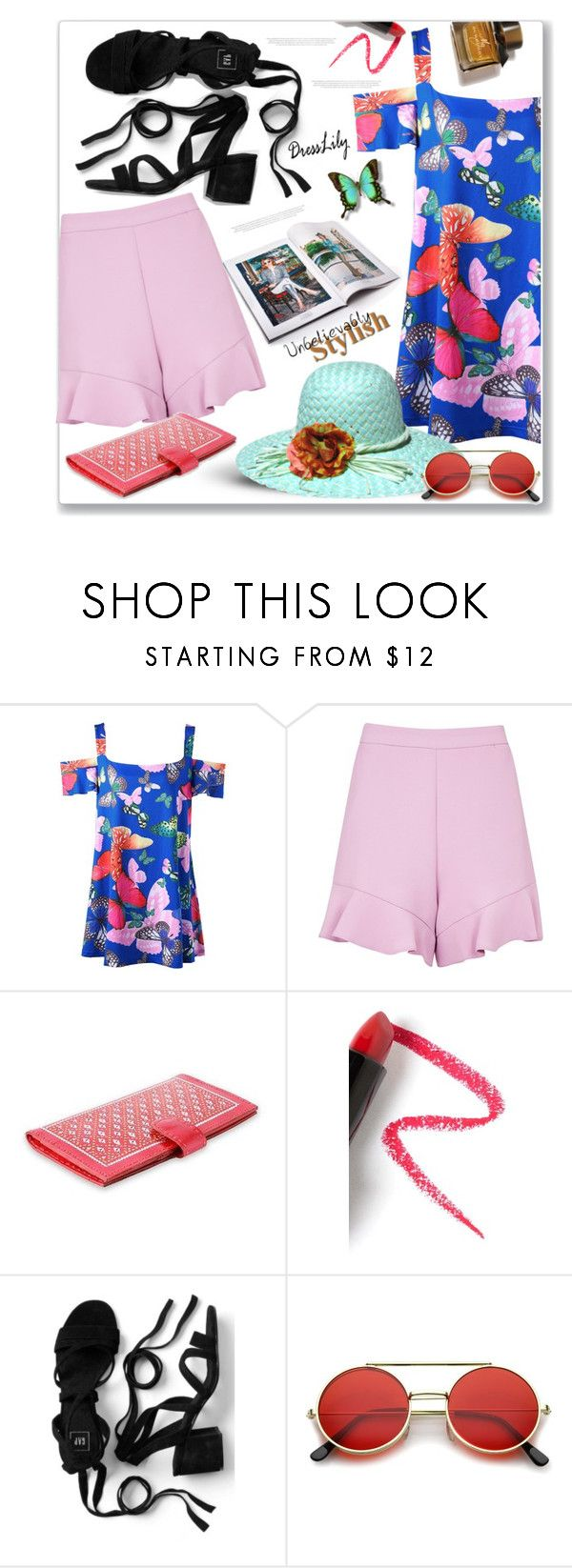 """Summer time"" by markitahamilton3 ❤ liked on Polyvore featuring Topshop, NOVICA, Lapcos, Burberry, Summer and dresslily"