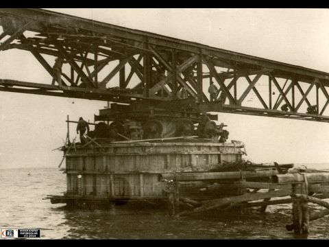 Крымский мост.  Почему в 1944 году мост был разрушен