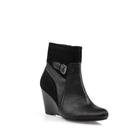 Zensu Breeze in Black Multi Suede/Leather