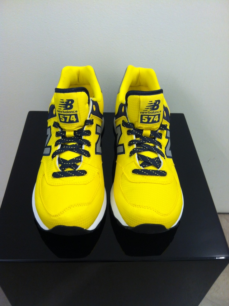 New Balance #yellow #man #shoes