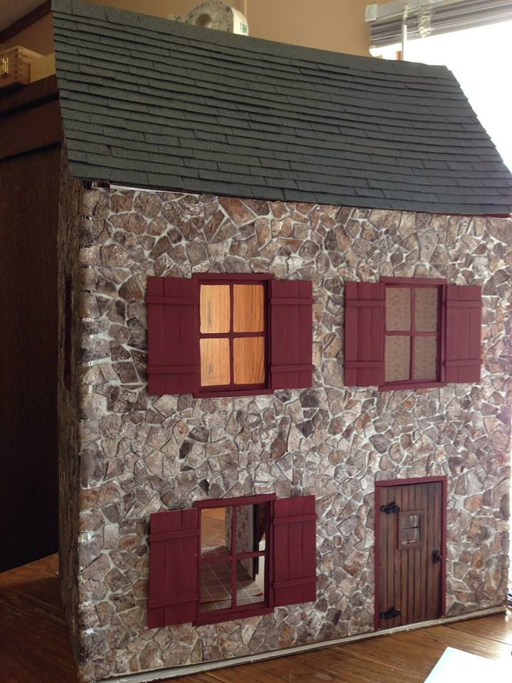 58 best images about my first dollhouse on pinterest the for House look from outside