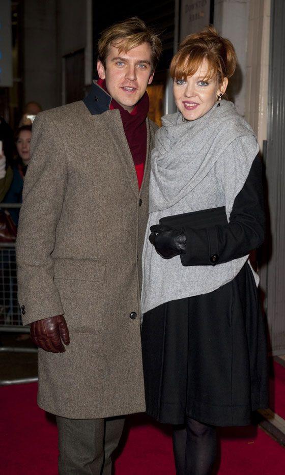 Dan Steven (Matthew) with his wife Susie Hariet a singing teacher.