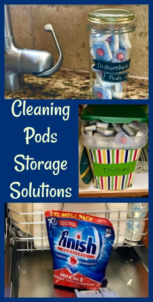 2 Dishwasher Pods Storage Solutions That Are Super Cheap