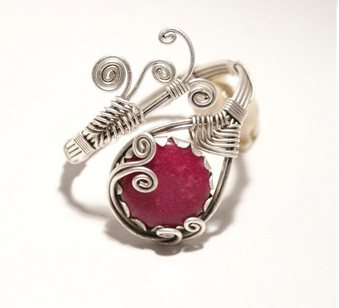 A personal favorite from my Etsy shop https://www.etsy.com/listing/232529602/ruby-jewelry-ruby-bracelet-ruby-cuff