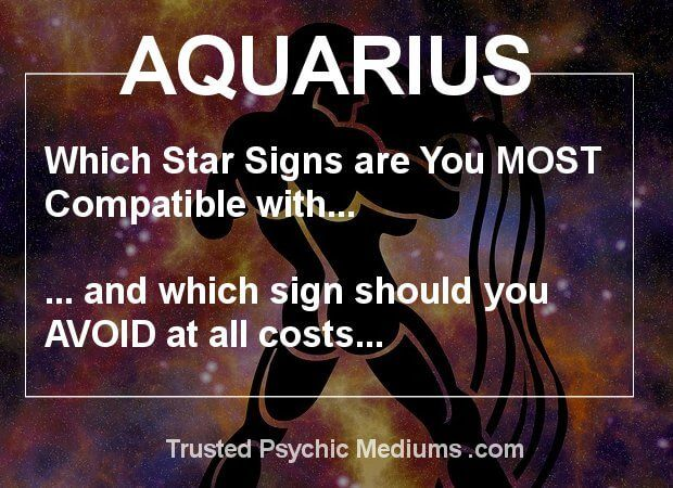 Discover the hidden truth about Aquarius dates in this exclusive and in depth report. Learn which signs are the best match for Aquarius once and for all.