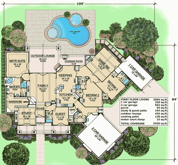 One Level Living With Outdoor Lounge - 36396TX | 1st Floor Master Suite, Butler Walk-in Pantry, CAD Available, Corner Lot, Craftsman, Den-Office-Library-Study, European, Media-Game-Home Theater, PDF, Photo Gallery, Split Bedrooms | Architectural Designs