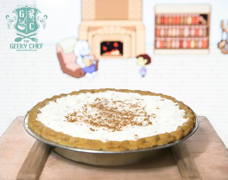 Toriels butterscotch cinnamon pie the geeky chef