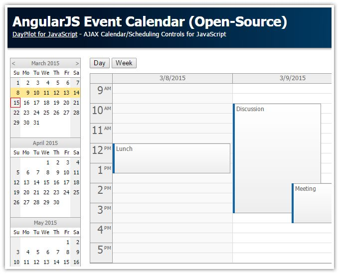 Best 25+ Angularjs calendar ideas on Pinterest Bootstrap - event calendar