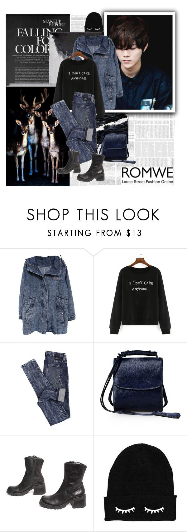 """""""with denim..."""" by ani-onni on Polyvore featuring Dr. Denim and Marques'Almeida"""