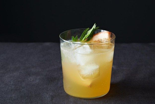 Grapefruit, Tarragon Gin and Tonic. | 17 Creative Gin And Tonic Cocktails