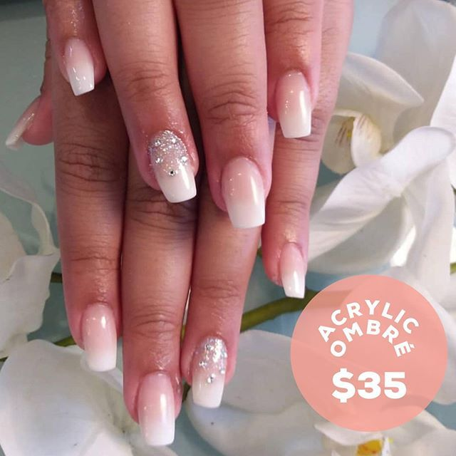 Gorgeous Acrylic Ombre Nails Done By Negin Book Now With Our 35 Deal 0411 969 952 Acrylic Nails Ombre Nails Ombre Acrylic Nails How To Do Nails
