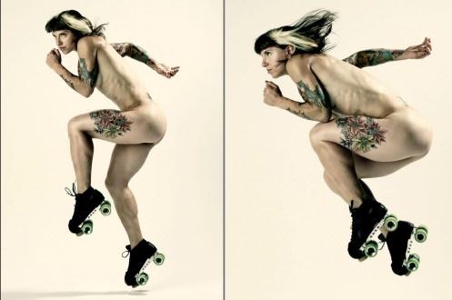 Suzy HotRod <3 In ESPN Magazine Body Issue