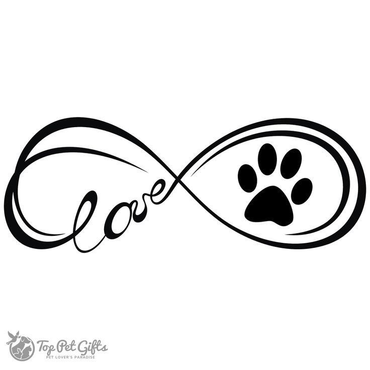 Image result for infinity paws decal