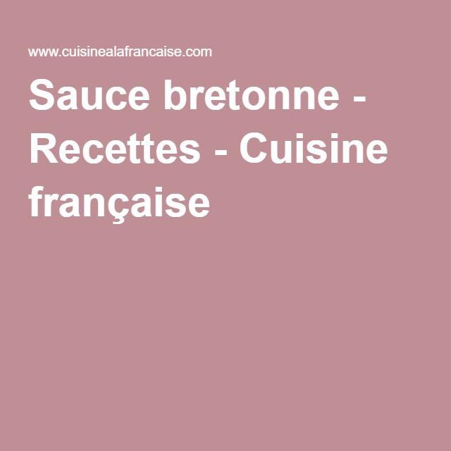 Sauce bretonne