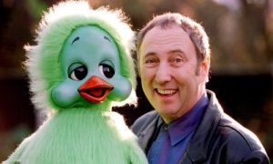 Keith Harris with his puppet Orville the Duck.