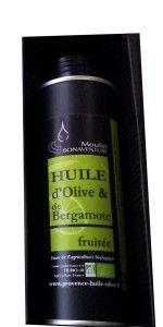 Olivenöl aus der Provence, aromatisiert mit Bergamotte ** Moulin Bonaventure