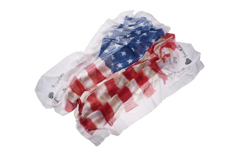 Maxi foulard american flag #fredmello #fredmello1982 #newyork #accessories #mancollection #womancollection #springsummer2013 #accessible luxury #cool #usa #