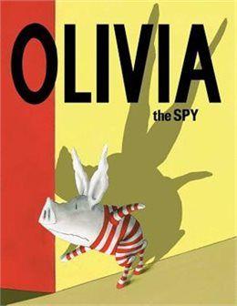Book Olivia the Spy by Ian Falconer