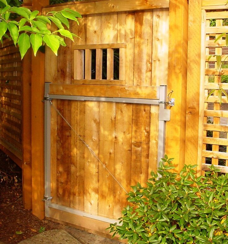 Gate Kits For Wood Fences Woodworking Projects Amp Plans