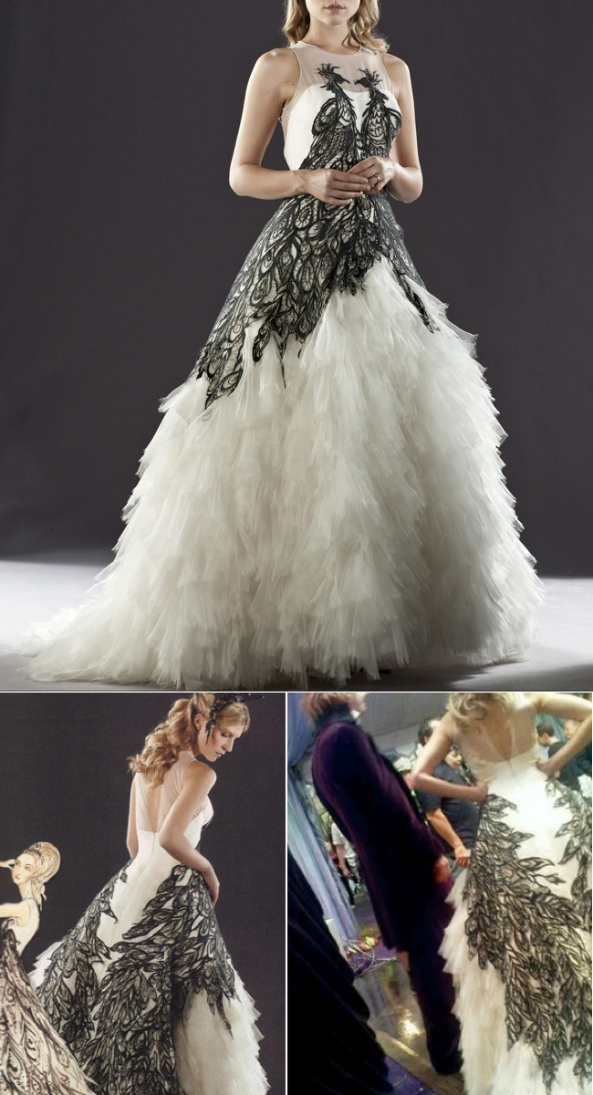 17 best images about harry potter on pinterest ron for Harry potter wedding dress