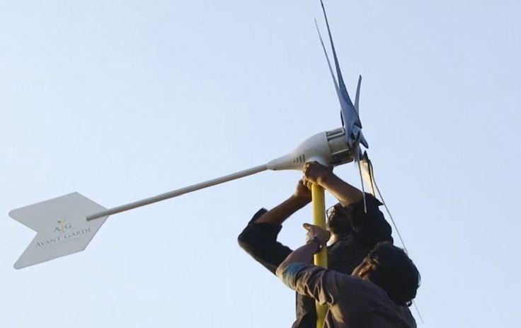 Pour le prix d'un smartphone, cette éolienne alimente toute une maison en électricité   NeozOne