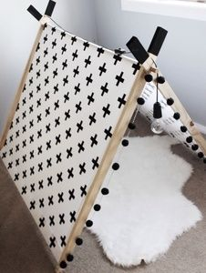 kidsroom | tippi | black & white | crosses