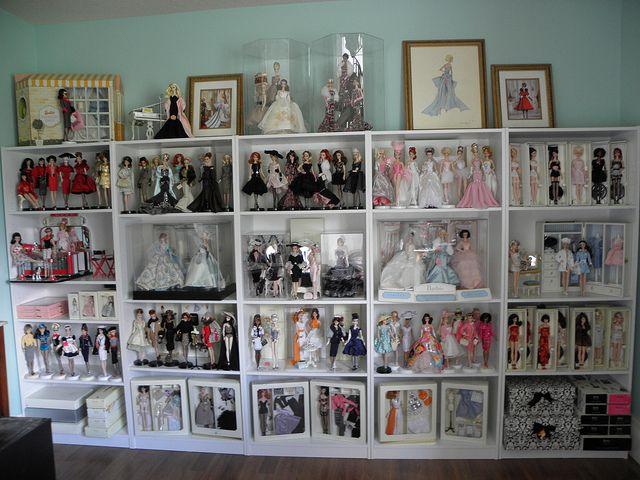 Barbie display ideas