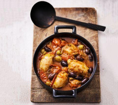 Kylling a la puttanesca (247 kalorier) | Slankeklubben.dk