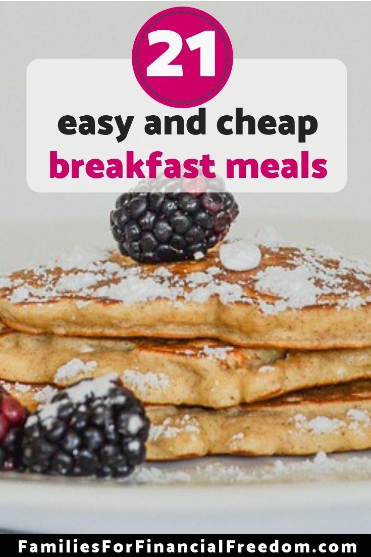 21 Cheap Breakfast Ideas For Under 1 Per Person Best