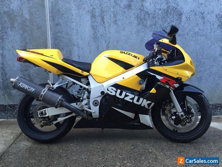 SUZUKI GSXR 600 2001 #suzuki #gsxr600 #forsale #australia