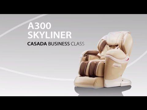 Nowość w ofercie Casada - fotel masujący Skyliner A300!