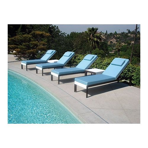 found it at allmodern etra lounge chaise lounge with cushion modern outdoor chaise