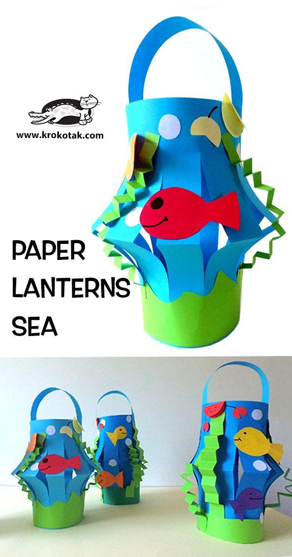 PAPER LANTERNS SEA