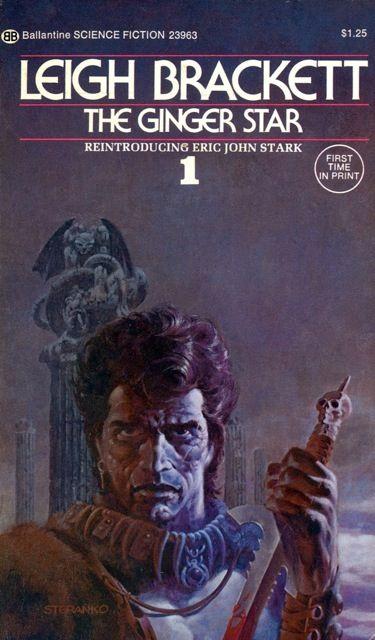 JIM STERANKO - The Ginger Star by Leigh Brackett - 1974 Ballantine Books