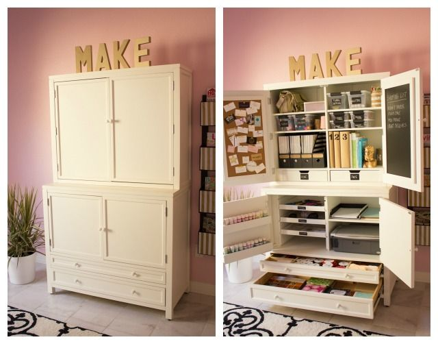 How To Create An Organized Craft Room