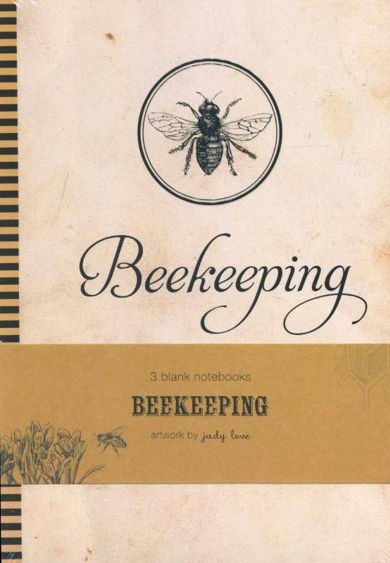 Beekeepers Blank Notebooks - Judy Love
