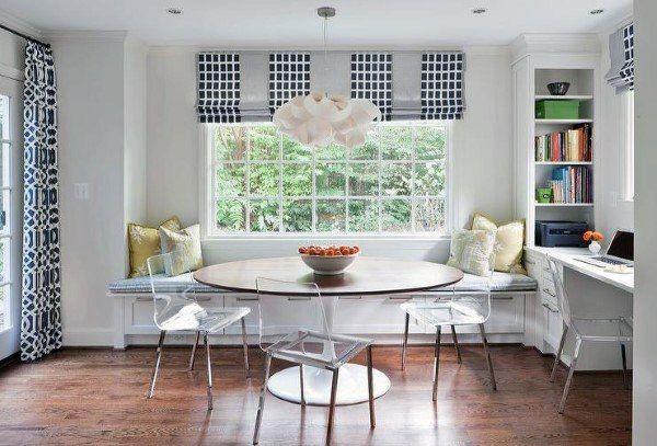 Top 50 Best Breakfast Nook Ideas Kitchen Gathering Spots Breakfast Nook Table Black Kitchen Table Breakfast Nook Seating