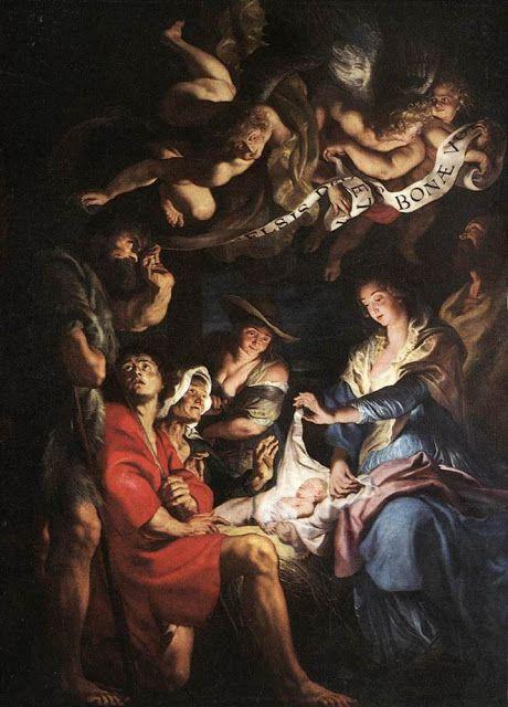 Προσκύνημα των ποιμένων. (1608)