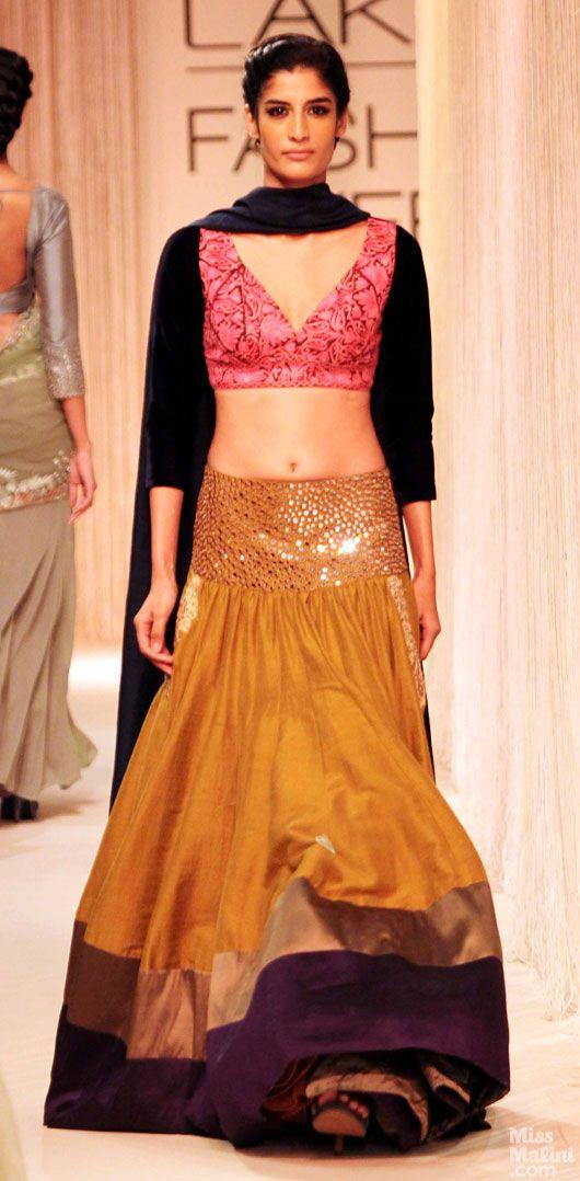 Lengha by Manish Malhotra at Lakme Fashion Week 2013