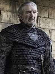 "Clive Russell as Brynden ""Blackfish"" Tully"